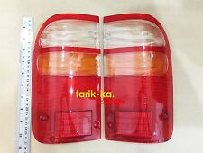 Rear Combination Tail Lights Lens For 02-04 02 Toyota LN166 Hilux Pickup D4D