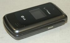 LG VX5500 GRAY Verizon Wireless Flip out Keyboard Cell Phone VGA Camera grey -B-