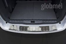 Peugeot 5008 `09-.. Chrome Bumper Sill Protector Trim Cover Stainless, pl