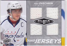 2010 10-11 Black Diamond Jerseys Quad #QJAO Alexander Ovechkin jersey SP