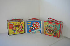Bundle #4 - vintage Disney metal lunchboxes