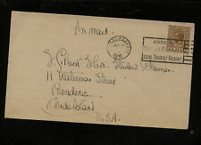 Bahamas   79  on  cover to  US   1932           AT0519