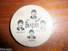 THE BEATLES GENUINE 1964 USA WOODEN NICKEL COIN AWESOME CONDITION REAL McCOY