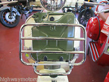 VESPA PX125 PX 125 FRONT CARRIER TOURING KIT WITH 5L FUEL PETROL TANK FA ITALIA
