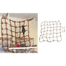 Parrot Birds Climbing Net Jungle Fever Rope Small Animals Toys FG