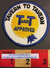Patch Tavern To Tavern Approved ? Bar Hopping Patch Or 5K Race Cambridge MA 57HH