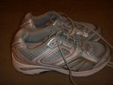 Ecco Tennis Shoes Silver/Pink Womens Size 6-6.5