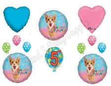 CATS KITTENS 5TH Happy Birthday Balloons Decoration Supplies Party Girl Fifth