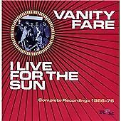 Vanity Fare - I Live For The Sun Complete Recordings 2 CD set Classic 60's Beat