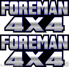 Foreman 4x4 Blue Gas Tank Graphic TRX 450 400 500 Decal Sticker Atv Quad Fender
