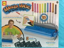 Alex Marker Magic Air Brush Studio - New in Box 26 Piece Kit