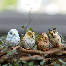 Chic Garden Owl Moss Terrarium Desktop Decor Crafts Bonsai Animal Miniature Diy