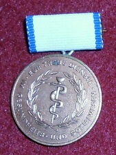 NB02 East German Bronze medal for True Service to health and socialism