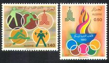 Algeria 1980 Sports/Olympic Games/Olympics/Flame/Shooting/Fencing 2v set n39573