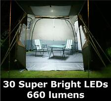 NEW 12v LED Awning Lighting Set. For Caravan, Camper, Motorhome Tent - 660 lumen