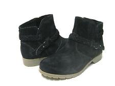 Teva De La Vina Ankle Women Boots Black Suede US 11 /UK9/EU42