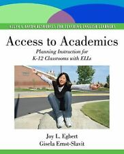 Access to Academics: Planning Instruction for K-12 Classrooms with ELLs (Pearso