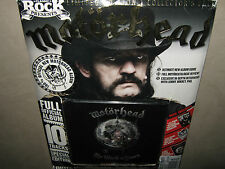 MOTORHEAD The World is Yours LIMITED EDITION CD PACK w POSTER METAL BADGE & MAG