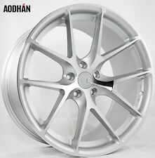 17X7.5 +35 AodHan LS007 5X120 Silver Wheel Fits Bmw M3 3 5 4 Series 5X4.75