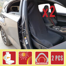 Pair Slip On Throw Over Car Seat Covers All Bucket Seat Toyota Holden Ford Mazda
