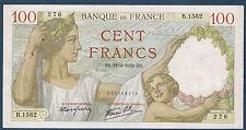 FRANCE - 100 FRANCS SULLY Fayette n° 26.7 du 21=9=1939.ZB en TTB+   A.1562 276