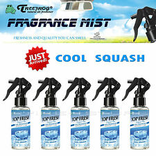 5 PACK TREEFROG TOP FRESH COOL SQUASH SCENT FRAGRANCE MIST SPRAY AIR FRESHENER