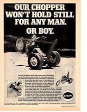 1971 COX CHOPPER ~ ORIGINAL PRINT AD
