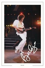 BRIAN MAY SIGNED PHOTO PHOTOGRAPH PRINT AUTOGRAPH QUEEN