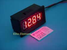 Super Small Red LED DC -50~125℃ Digital Thermometer Temperature Meter With Probe