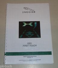 Schulungsunterlage Einführung Jaguar XJ Typ X351 First Touch Stand 01/2010
