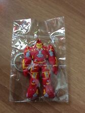 HULKBUSTER IRON MAN PORTACHIAVI IN GOMMA KEYCHAIN MARVEL IDEA REGALO
