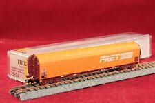 """Minitrix 15694 SNCF Schiebeplanenwagen""""FRET""""in orange/NEU/OVP"""