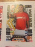Match Attax 13/14 Jack Wilshere Sport Relief 101-101 Card WITH MATA Rare Now