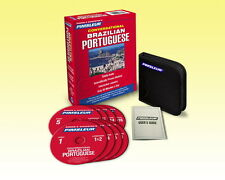 Pimsleur Brazilian Portuguese Language 8 CD (16 Lessons) Learn to Speak- NEW