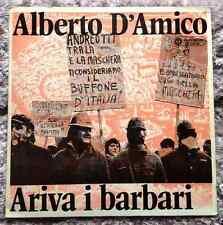 ALBERTO D'AMICO / ARIVA I BARBARI - LP (I dischi del sole - 1973) EX- / MINT