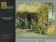 Pegasus Hobbies 1/72 WWII German Waffen SS -Set 1 1943 Kursk L.A.H.