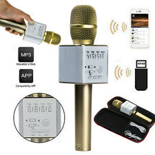 Q9 Wireless Bluetooth Karaoke Microphone Speaker Player For IOS/Android/Tablet