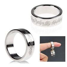 Strong Magnetic Ring 23mm  Magnet Coin Finger Pro Magic Tricks Props Show Tool S