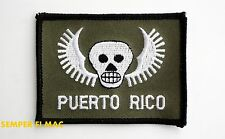 """PUERTO RICO COLLECTOR PATCH RECONNAISSANCE TEAM RECON USA AMERICA """"51st STATE"""""""