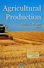 Agricultural Production by Nova Science Publishers Inc (Hardback, 2011)