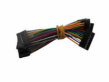 10X 10cm 10 pin Arduino Female to Female Jumper Cables Wires Sensor Shield EQUIV