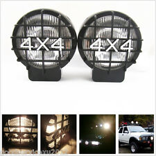 2 Pcs 4 X 4 White Driving Halogen Fog Spot Light Lamps For Jeep Liberty Compass