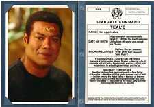 Stargate SG-1 Season 8 Personnel Files Chase Card PF4 - Teal'c