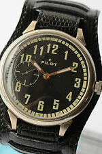 RUSSIAN PILOT Wrist Watch Poljot mechanical Vintage Soviet Caliber 3602