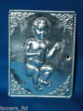 "Tama Ex Voto "" Baby  "" Greek Russian Orthodox Icon Embossed Metal Plaque-TM-005-"