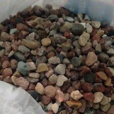 30 lbs  fish tank rock Small river stones.