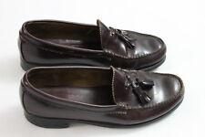 Mens Dexter 10 1/2 D Burgandy Tassles leather casual dress shoe