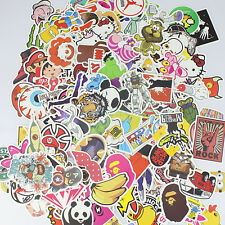 205 Stickers Skateboard Vintage Vinyl Sticker Laptop Luggage Car Decals Mix Gift