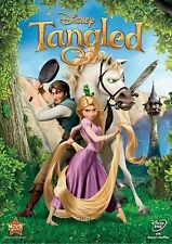 Tangled DVD New Disney Sealed comes with Slipcover Free Shipping