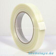 Ruban de Filament Filament 19mm x 50m Fibre de verre Bande adhésive transparent